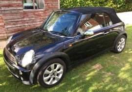 Low mileage MINI Cooper convertible for sale